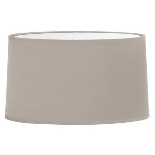 Astro 5034004 Tapered Oval Shade Putty Fabric